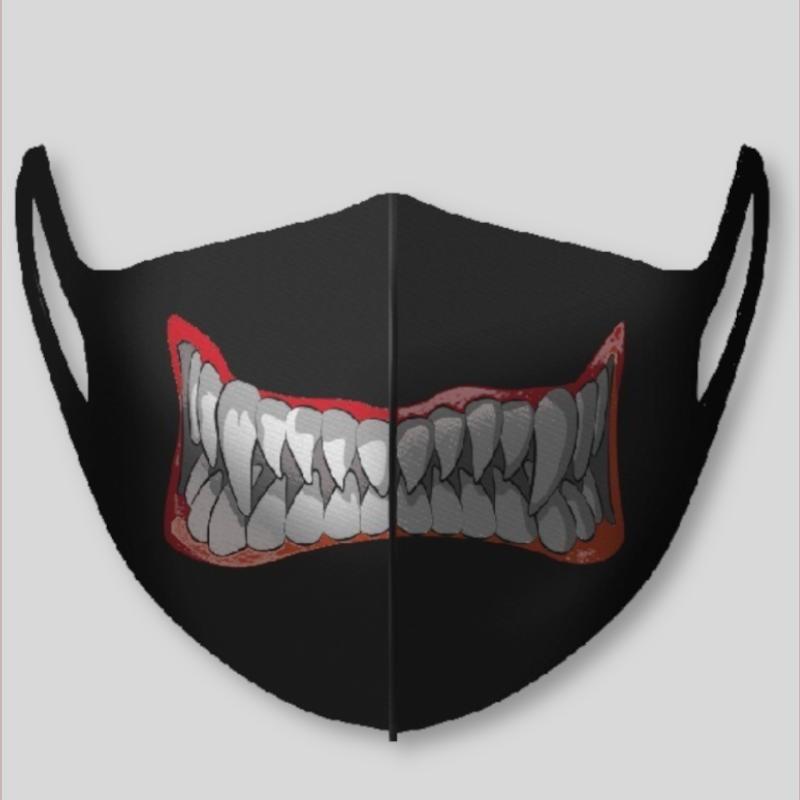 Masque enfant smile monster