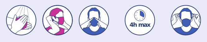 Conseils utilisation masque grand public