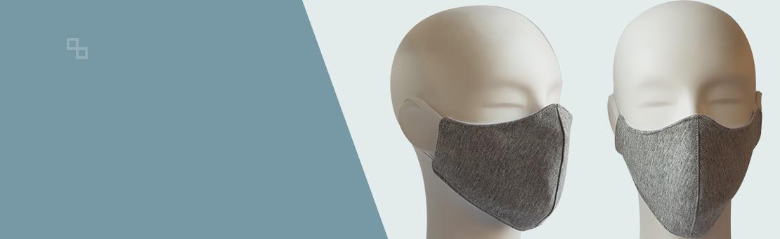 Masques en tissu lavable